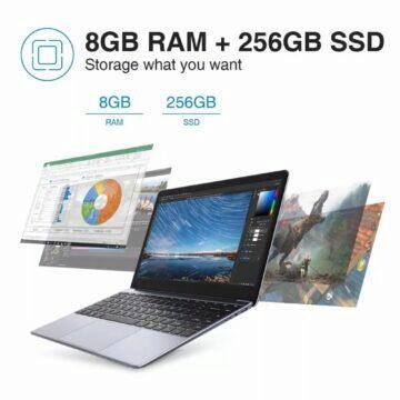 slevy zboží 11.11 2020 Notebook CHUWI HeroBook Pro paměti