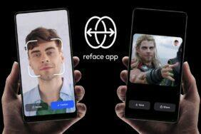 nová aplikace REFACE