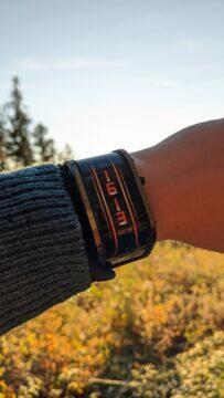 Nubia Watch výdrž jas