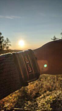 Nubia Watch výdrž slunce