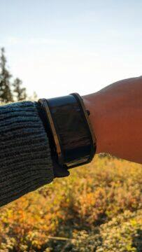 Nubia Watch výdrž západ