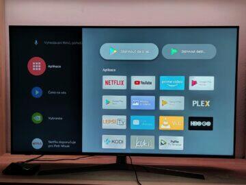 aplikace android TV