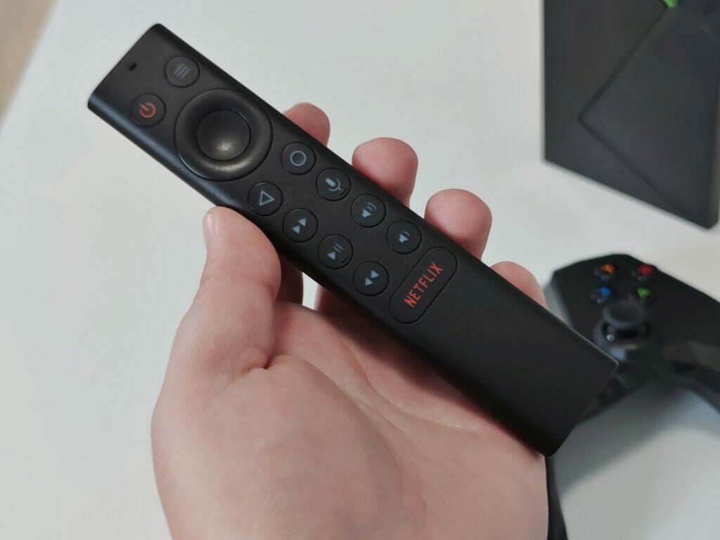 dálkové ovládání shield TV
