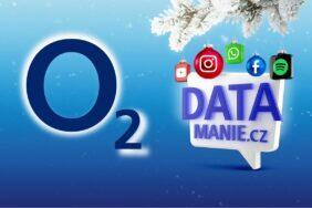 O2 datové tarify předplacené karty