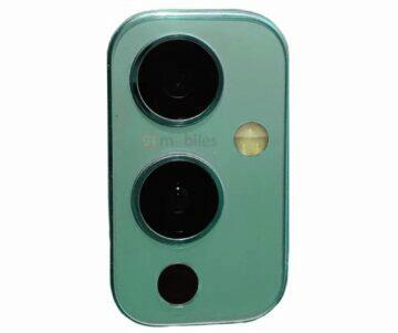 OnePlus 9 zadní panel fotoaparáty