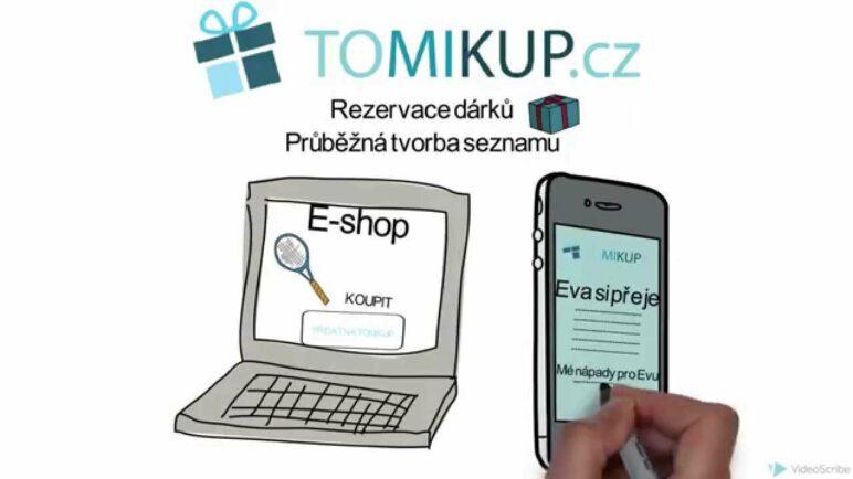 Online seznam přání - Vytvořte na Tomikup.cz