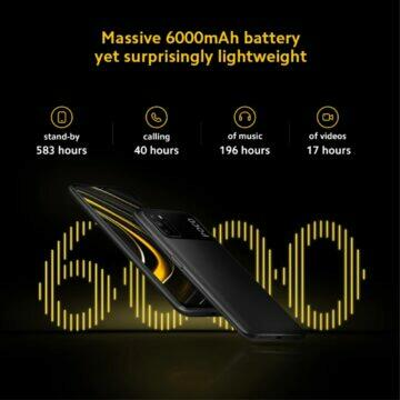 POCO M3 tip baterie