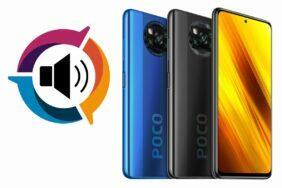 POCO X3 NFC DxOMark zvuk