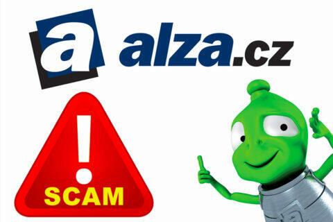 podvodníci se vydávají za alzu alza podvod