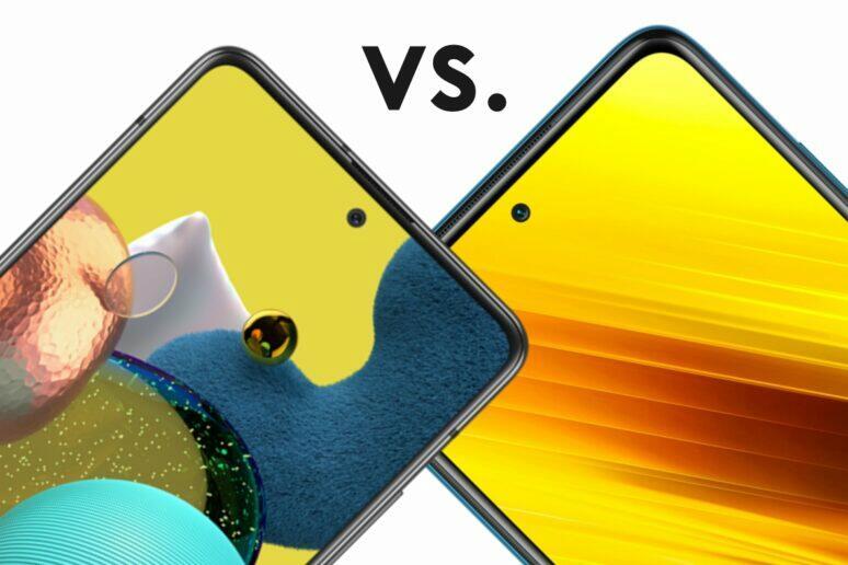 porovnani Samsung Galaxy A51 POCO X3 NFC