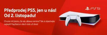 predprodej PlayStation 5 u Vodafone