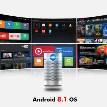 Přenosný miniprojektor BYINTEK P7 Android