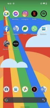 prostředí android 11