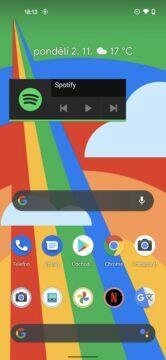 prostředí google pixel 5