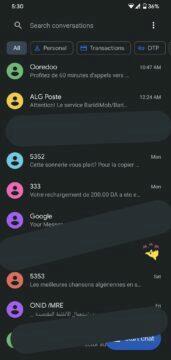 řazeni SMS do kategorií