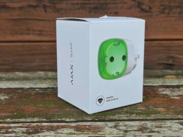 recenze AJAX zásuvka socket balení