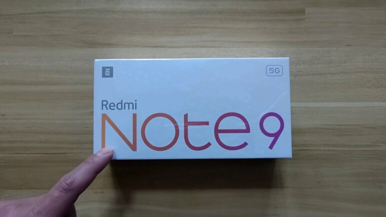 Redmi Note 9 5G Unboxing and Hands on
