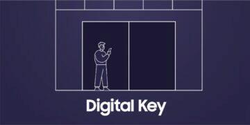 Samsung digitální klíč