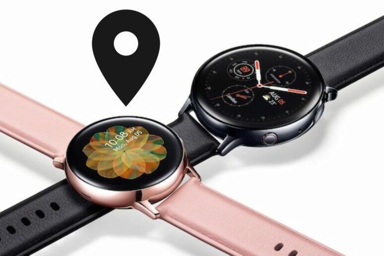 Samsung Galaxy Watch Active2 aktualizace GPS