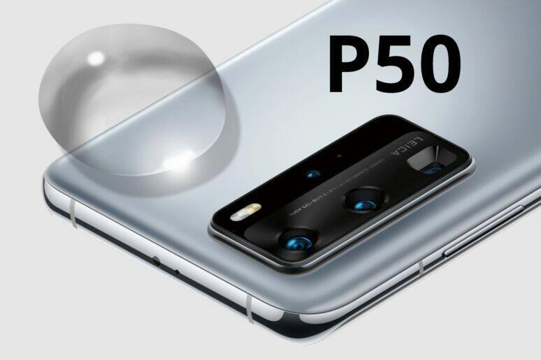 tekutá čočka Huawei P50