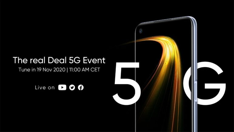 The real Deal 5G Event | realme 7 5G Online European Launch