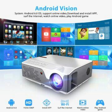 ThundeaL TD96W Full HD projektor s Androidem parametry