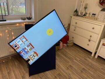 vertikální televize