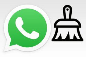 WhatsApp správa úložiště