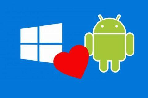 Windows 10 android aplikace