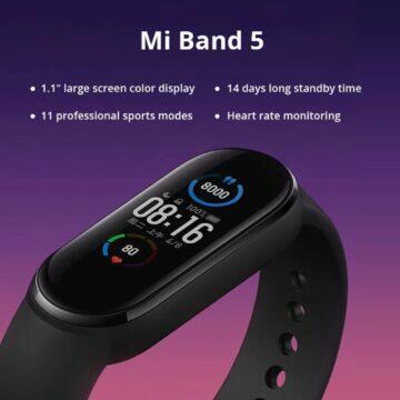 Xiaomi Mi Band 5 vlastnosti