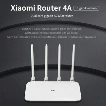 POCO M3 tip Xiaomi Mi Router 4A Gigabit Edition