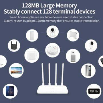 POCO M3 tip Xiaomi Mi Router 4A Gigabit Edition konektivita
