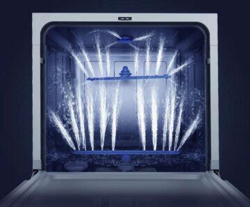 Xiaomi Mijia Internet Dishwasher 3d sprejování