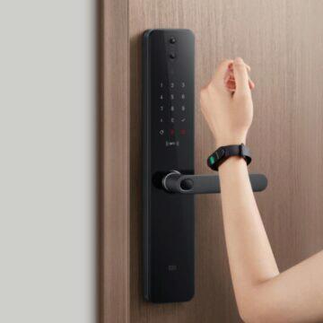 Xiaomi představilo Mijia Smart Door Lock Pro NFC otevírání