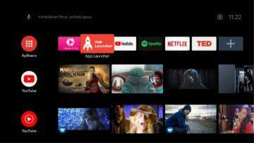Android TV všechny nainstalované aplikace App launcher for TV zástupce