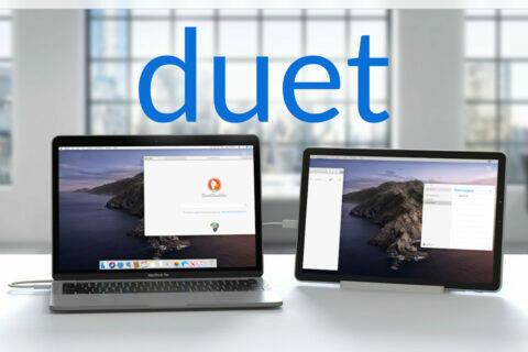 aplikace duet display