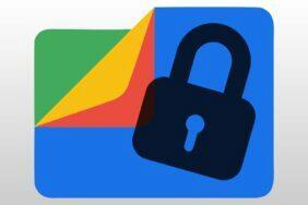 Bezpečná složka Google Files