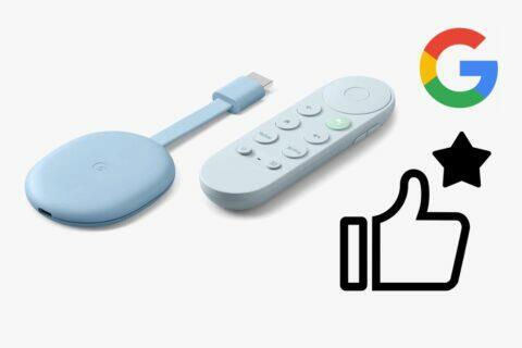 Chromecast Google TV doporučení