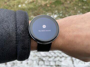 Chytré hodinky AMOLED displej