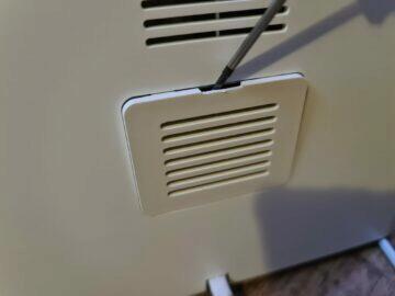 čištění senzoru kryt