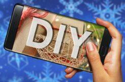 DIY aplikace Vánoce 2020