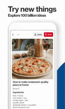 DIY aplikace Vánoce 2020 Pinterest pizza