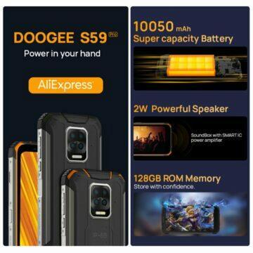 Doogee S59 Pro oficiálně představen