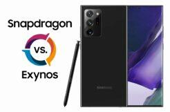 Galaxy Note20 Ultra Snapdragon Exynos focení