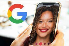 Google aplikace rtěnka makeup
