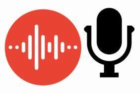 Google Diktafon nahrávání z externích mikrofonů