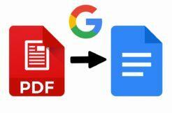 Google Dokumenty vylepšují PDF