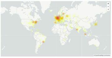 google down europe