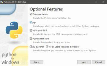 google fotky stažené složky Python instalace 1
