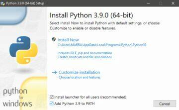 google fotky stažené složky Python instalace 2